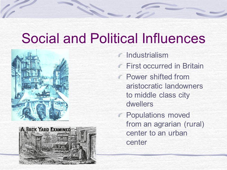 Social and Political Influences