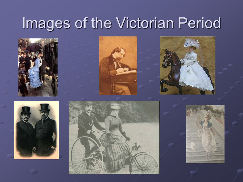 Images of the Victorian Period