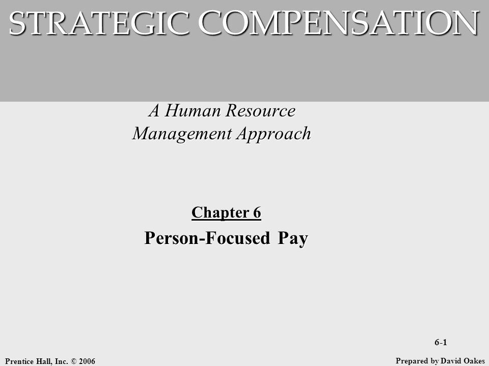 A Human Resource Management Approach