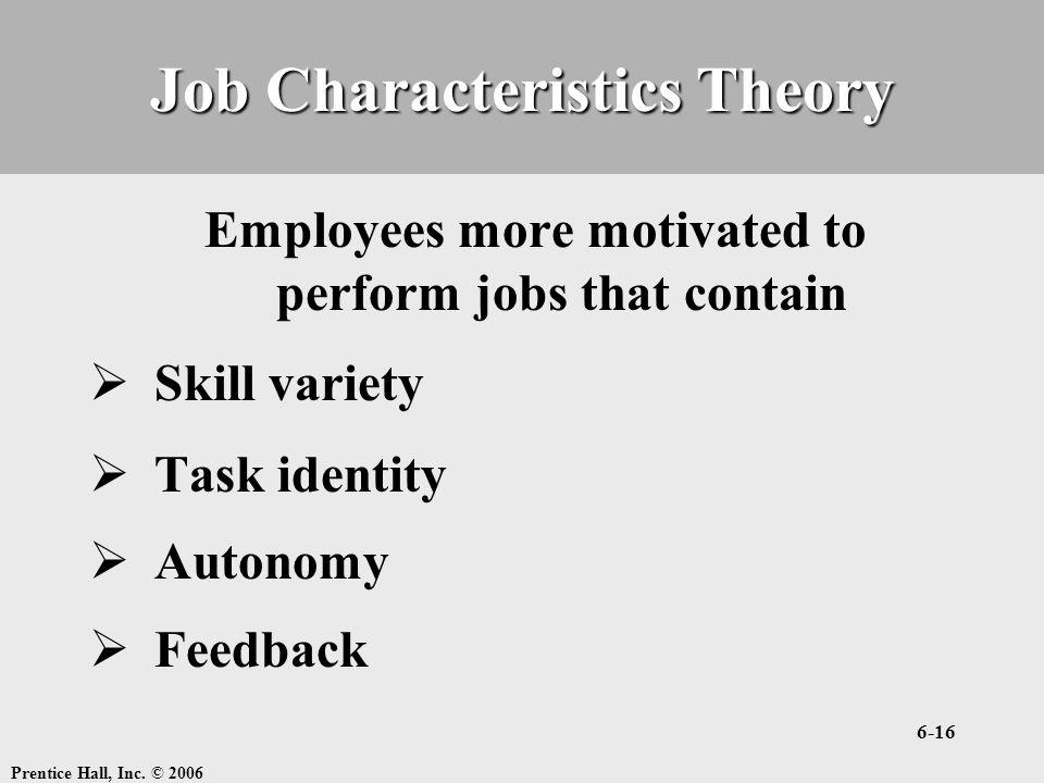 Job Characteristics Theory