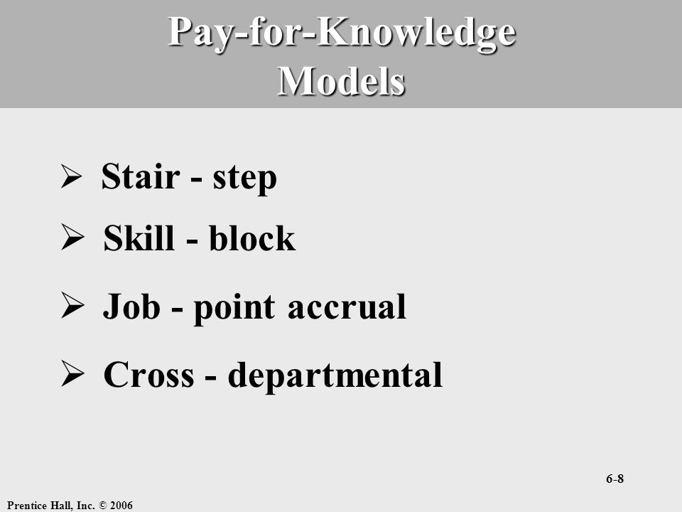 Pay-for-Knowledge Models