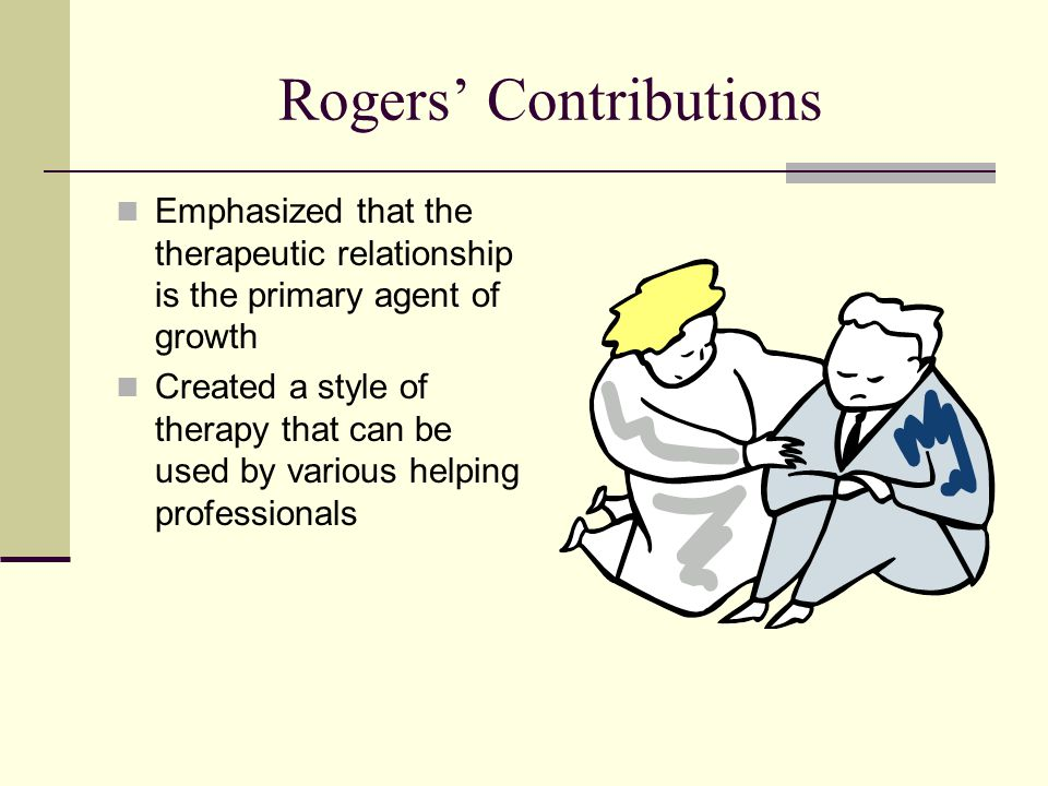 Rogers' Contributions