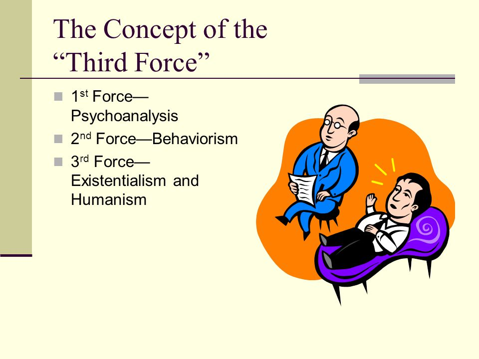 The Concept of the Third Force