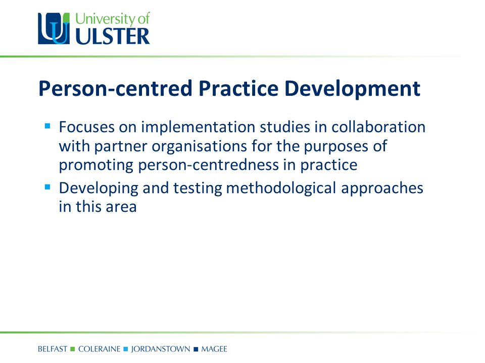 Person-centred Practice Development