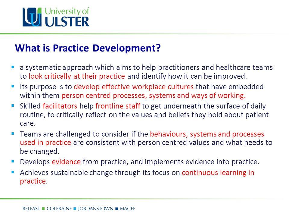 What is Practice Development