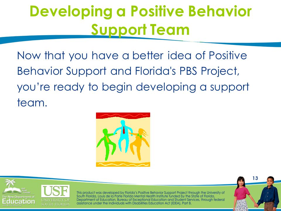 Developing a Positive Behavior Support Team