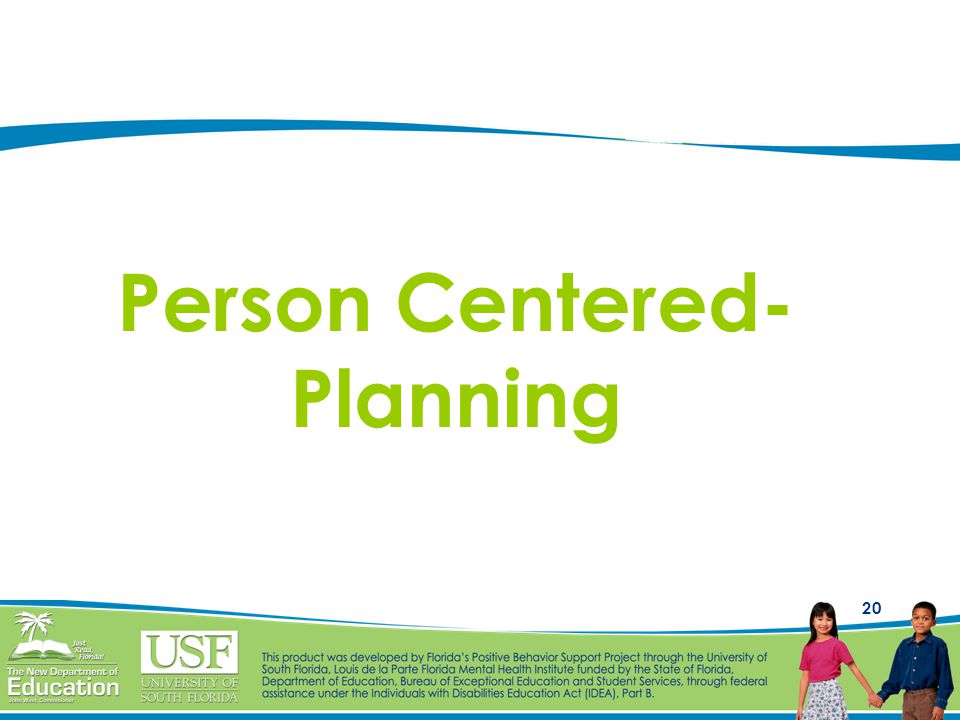 Person Centered-Planning
