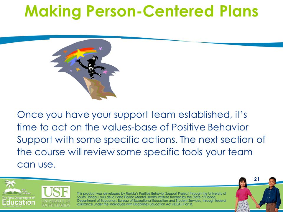 Making Person-Centered Plans