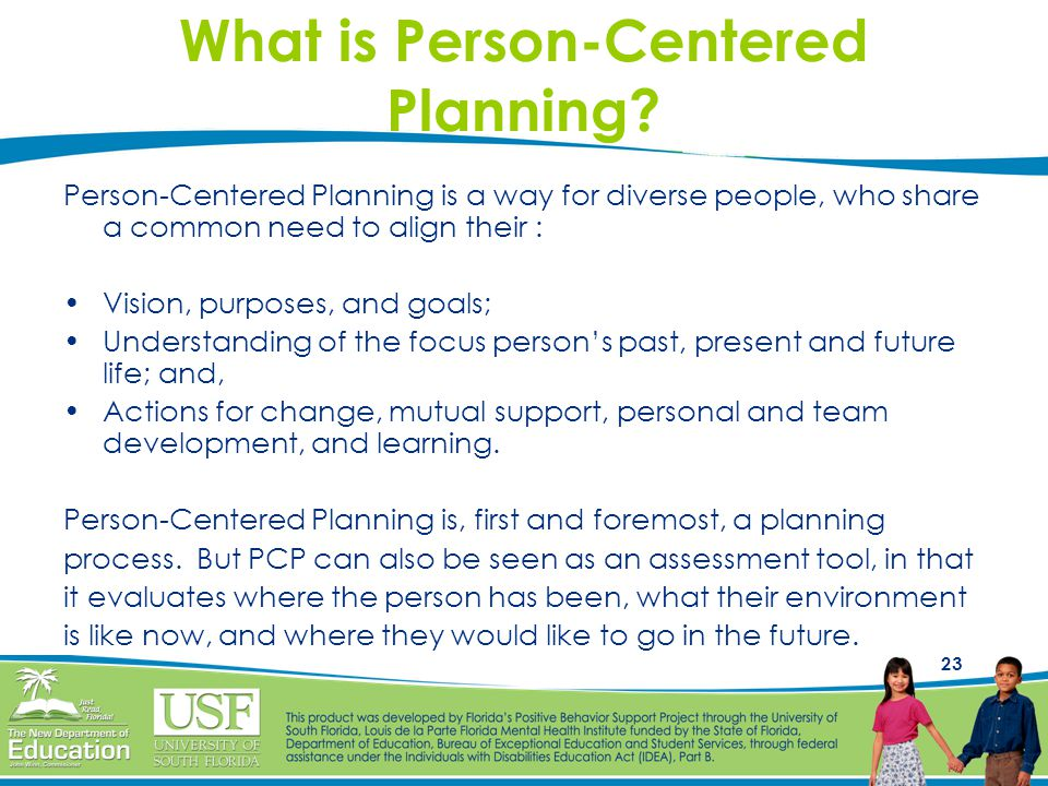 What is Person-Centered Planning