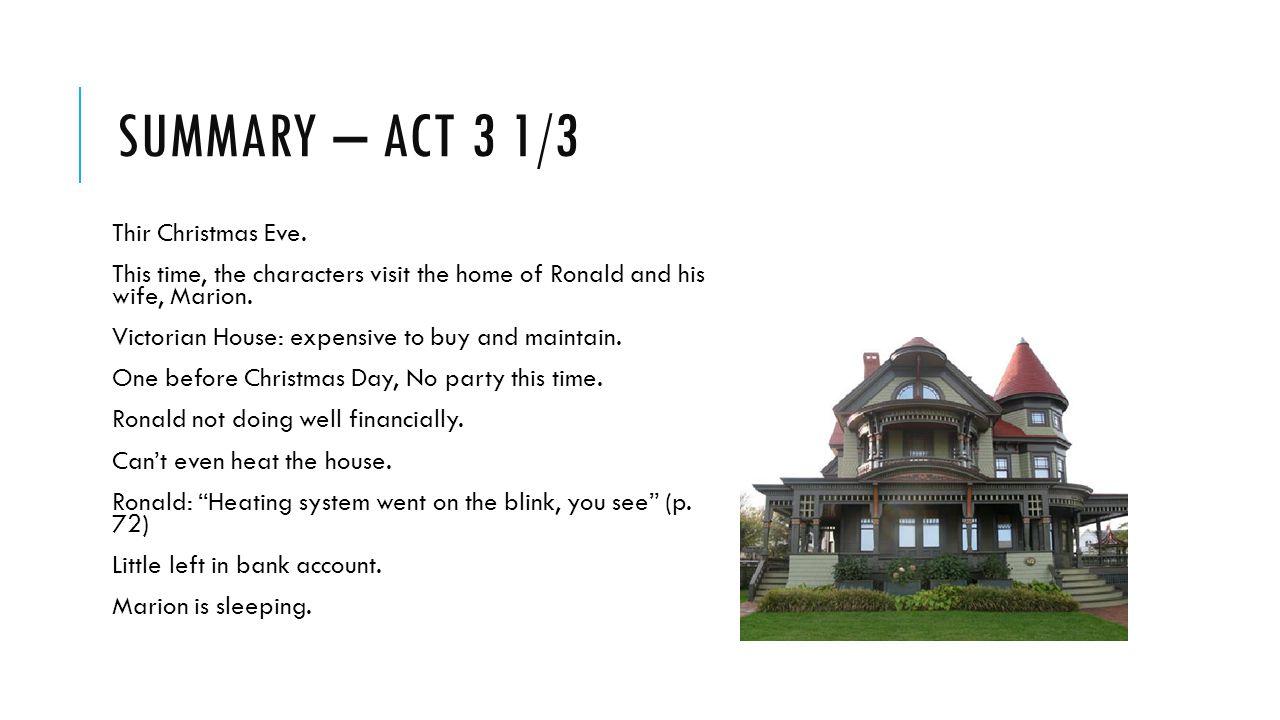 Summary – act 3 1/3