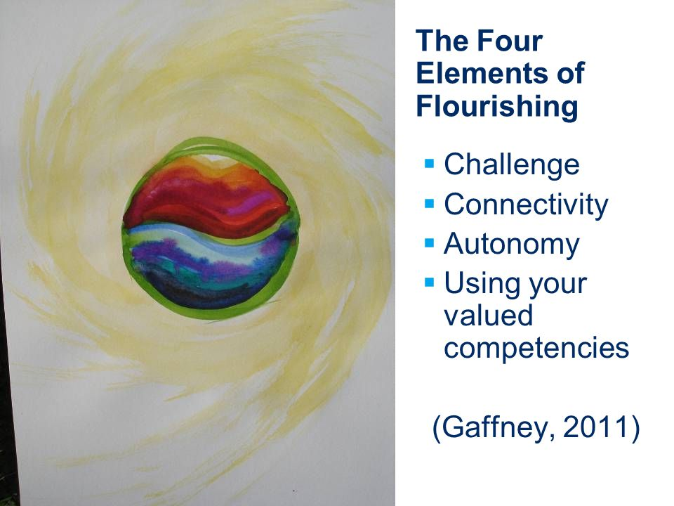 The Four Elements of Flourishing