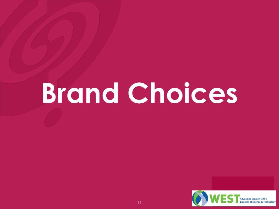 Brand Choices