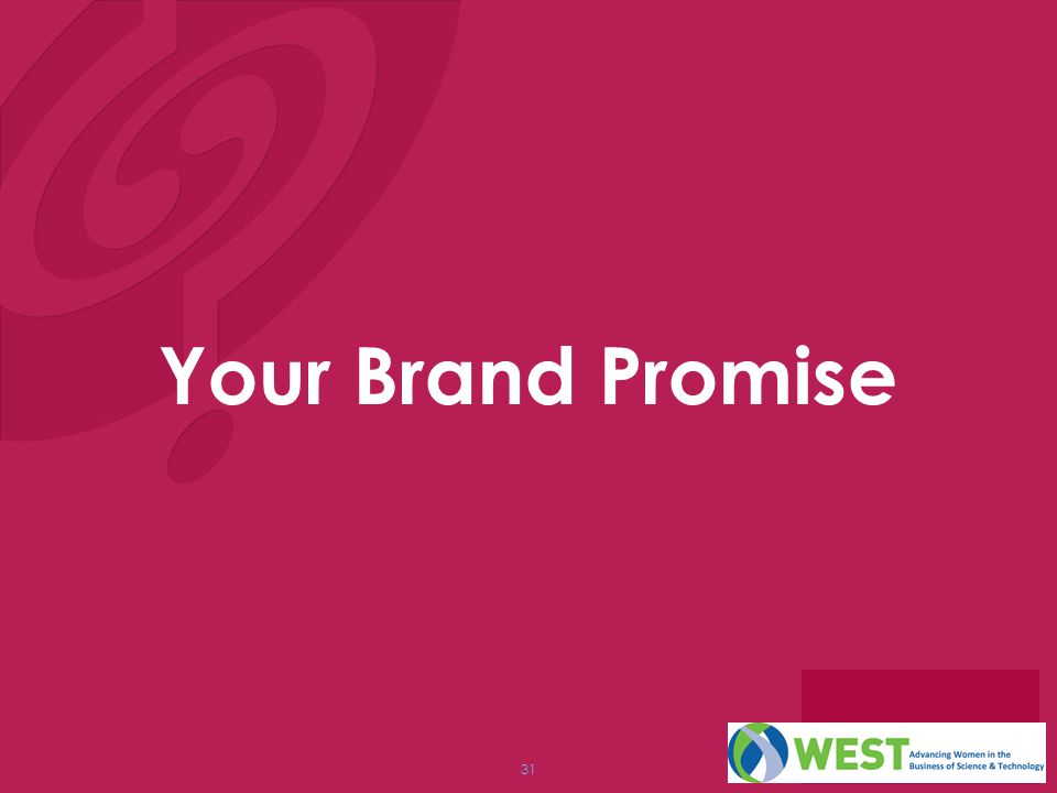 Your Brand Promise