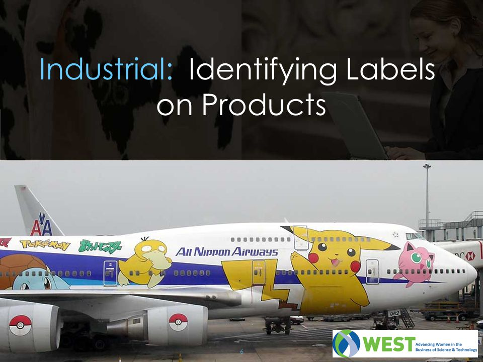 Industrial: Identifying Labels on Products