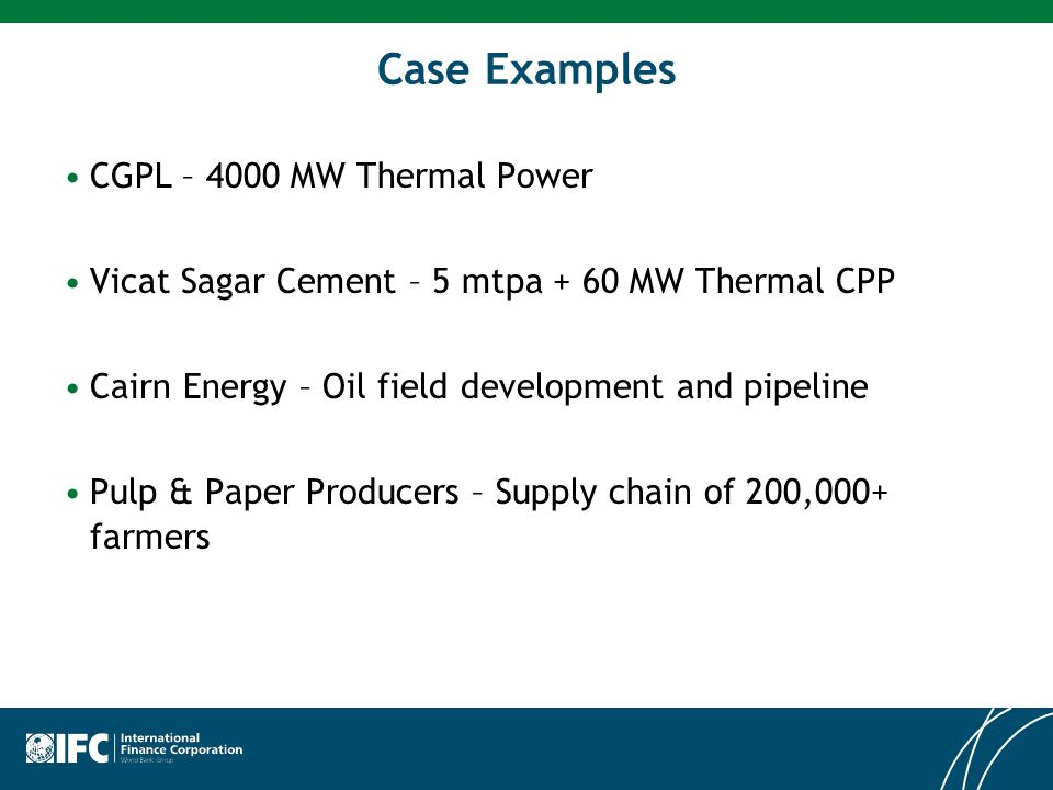 Case Examples CGPL – 4000 MW Thermal Power