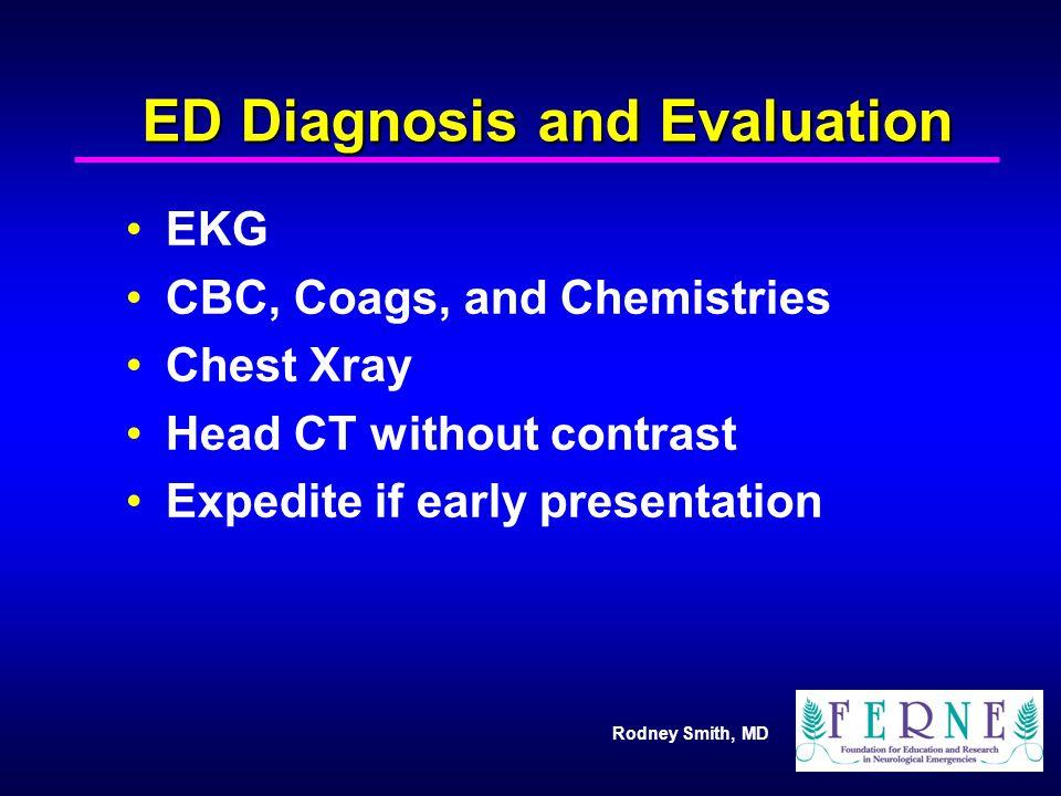 ED Diagnosis and Evaluation