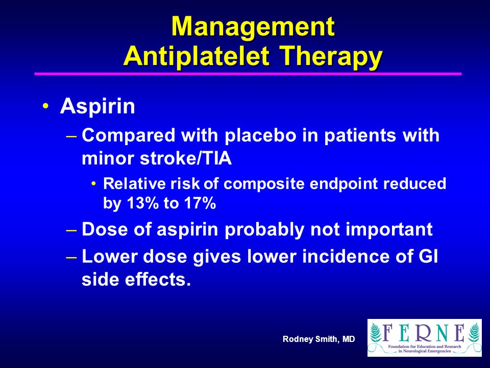 Management Antiplatelet Therapy
