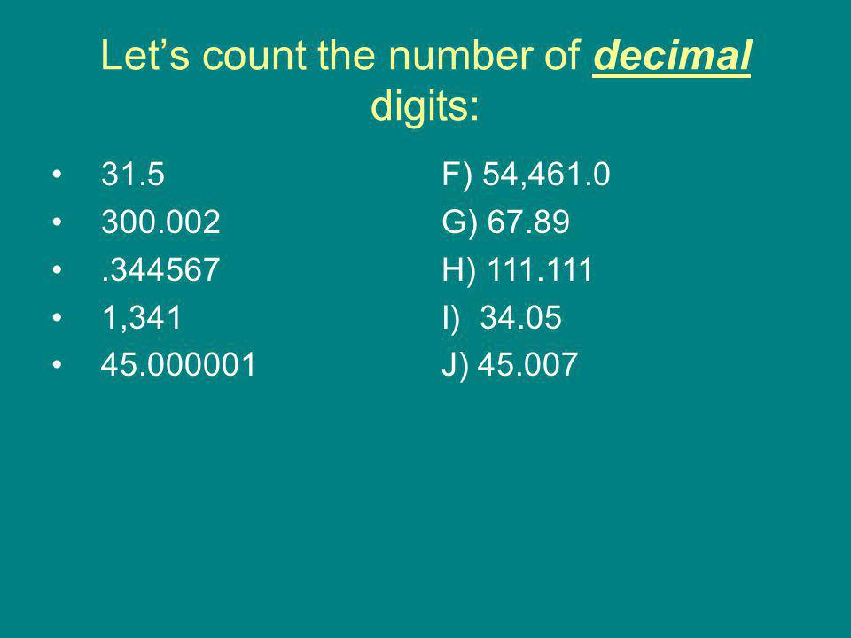 Let's count the number of decimal digits: