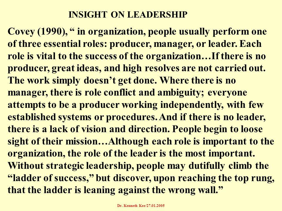 INSIGHT ON LEADERSHIP
