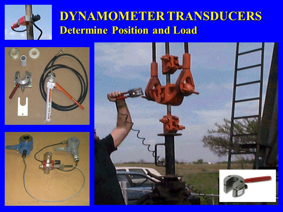 DYNAMOMETER TRANSDUCERS Determine Position and Load
