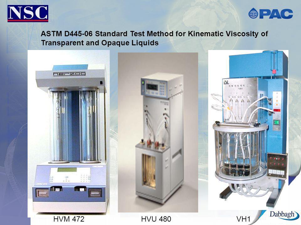 ASTM D445-06 Standard Test Method for Kinematic Viscosity of