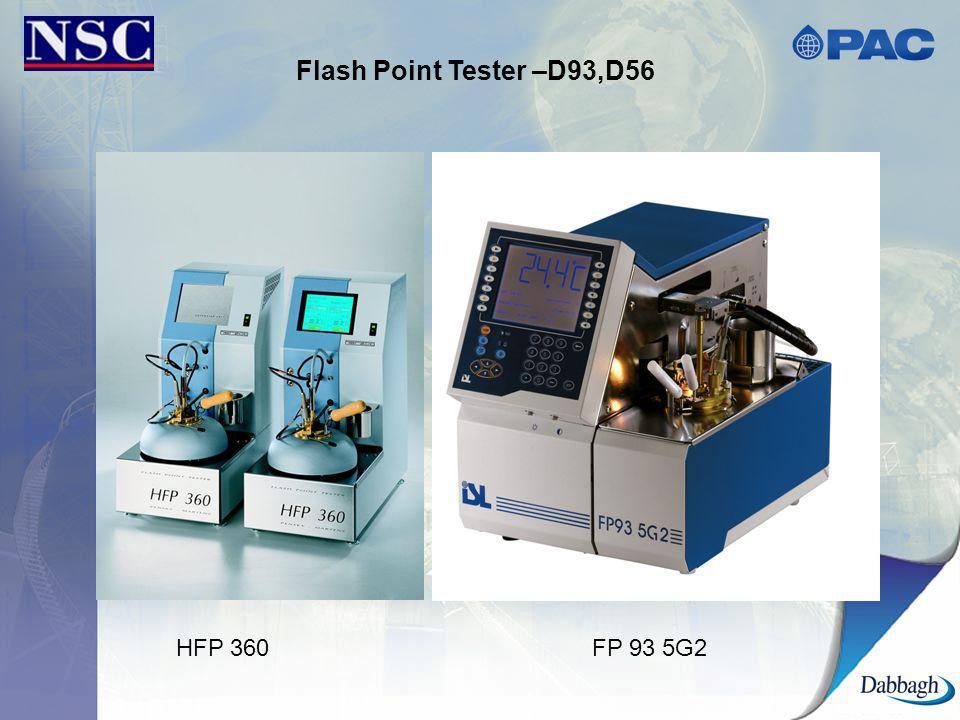 Flash Point Tester –D93,D56 HFP 360 FP 93 5G2