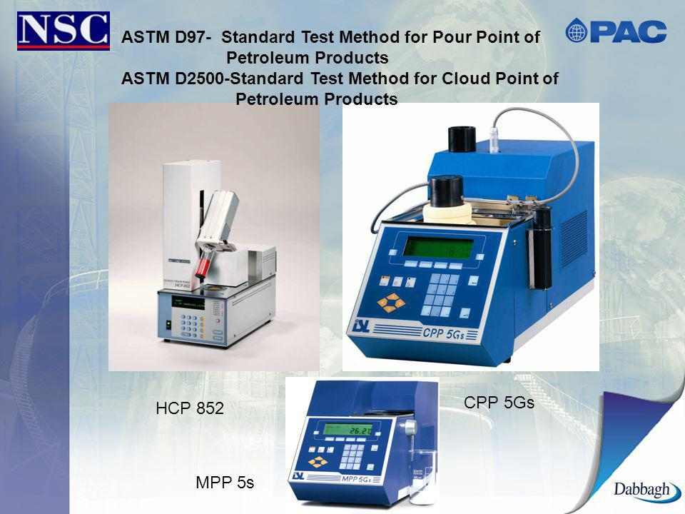 ASTM D97- Standard Test Method for Pour Point of