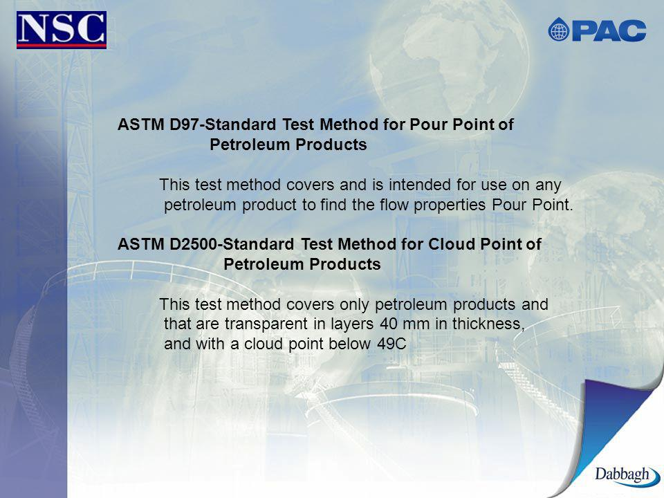 ASTM D97-Standard Test Method for Pour Point of