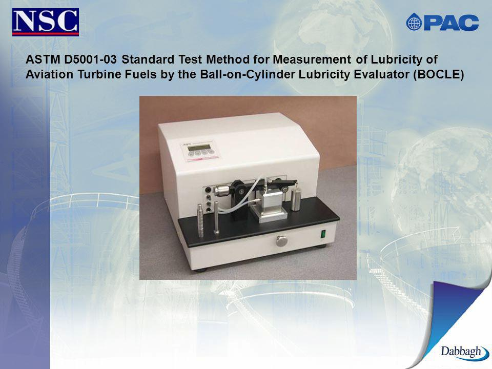 ASTM D5001-03 Standard Test Method for Measurement of Lubricity of