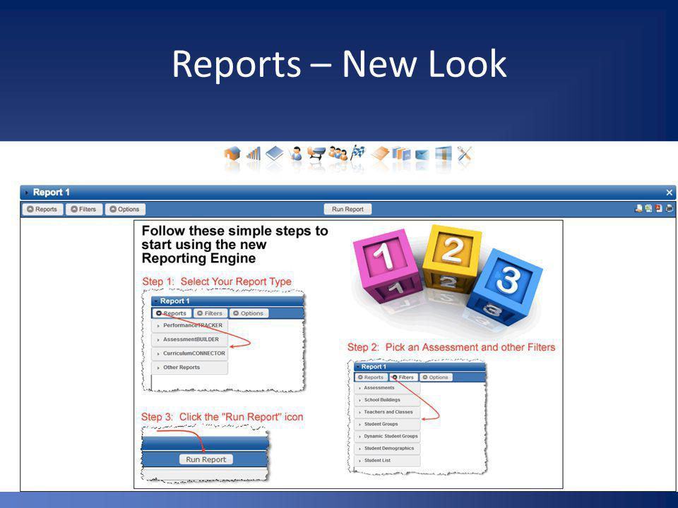 Reports – New Look