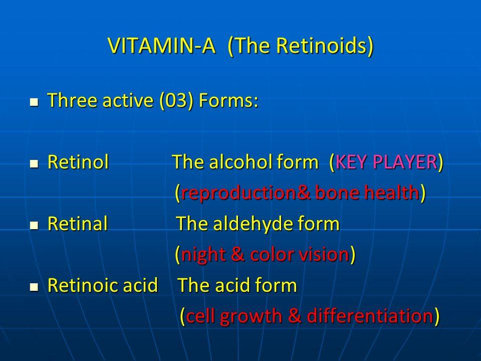 VITAMIN-A (The Retinoids)