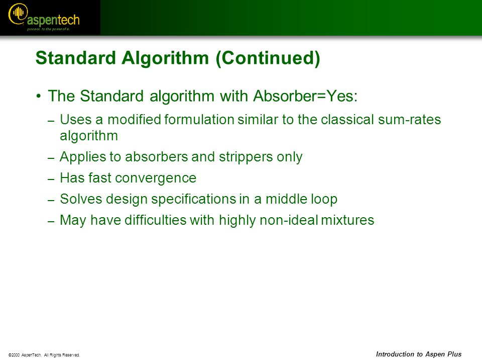 Standard Algorithm (Continued)