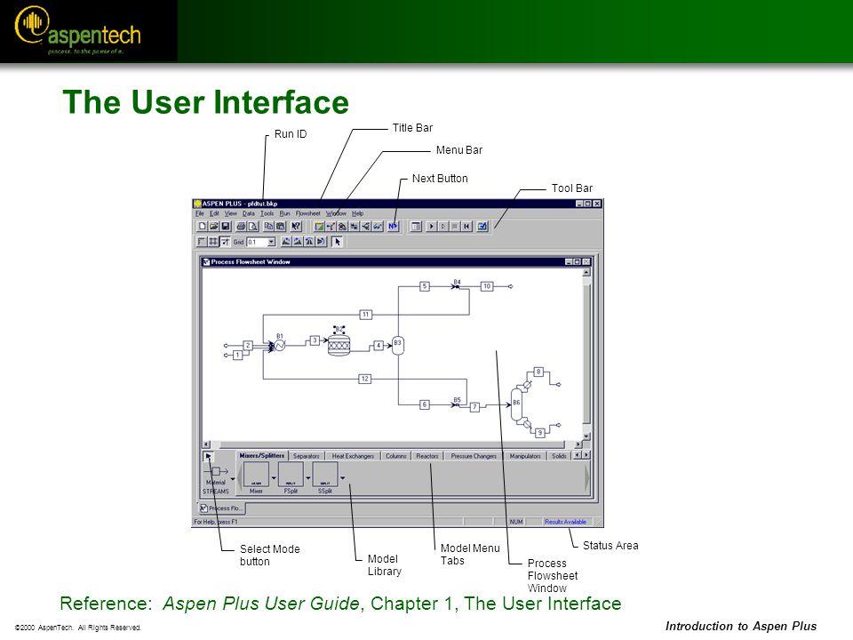 Aspen User Interface Related Keywords & Suggestions - Aspen User