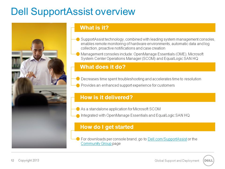 Dell SupportAssist overview