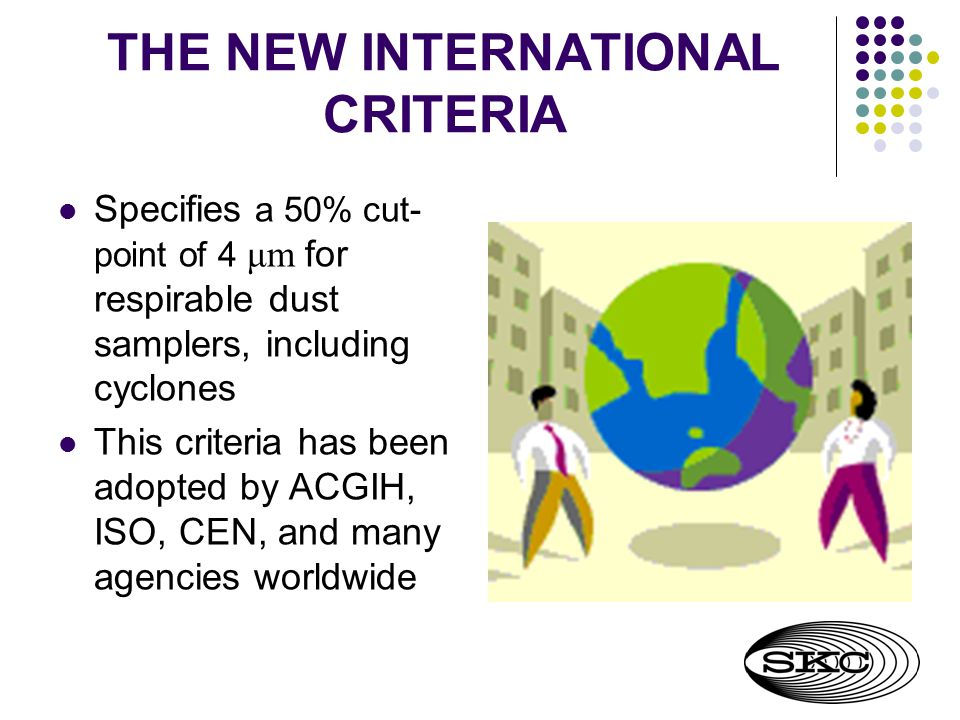 THE NEW INTERNATIONAL CRITERIA