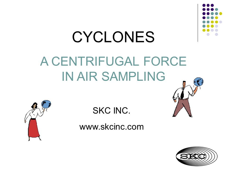 A CENTRIFUGAL FORCE IN AIR SAMPLING