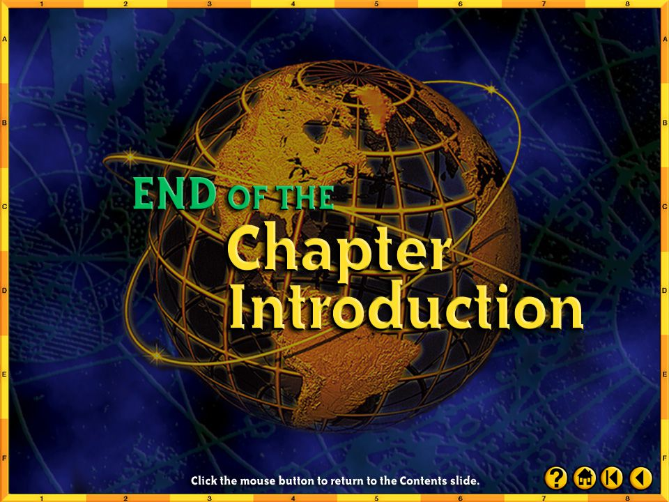 End of Chapter Intro