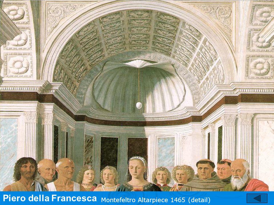 Piero della Francesca Montefeltro Altarpiece 1465 (detail)