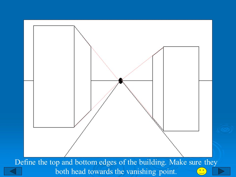 Define the top and bottom edges of the building