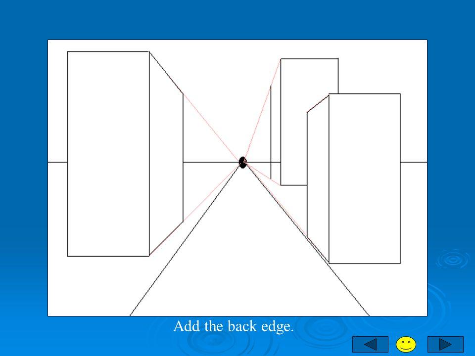 Add the back edge.
