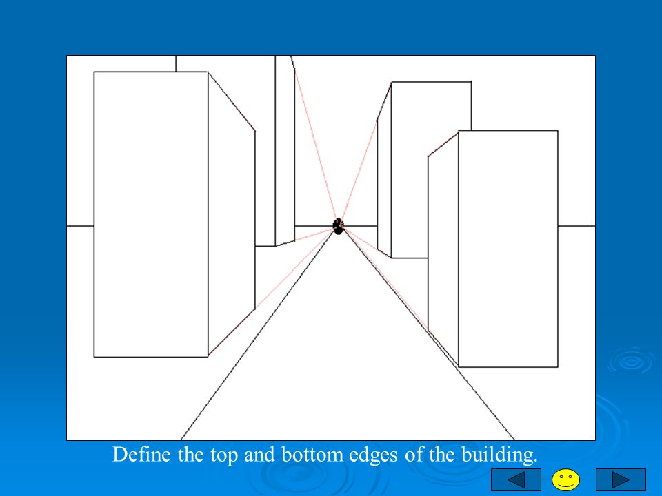Define the top and bottom edges of the building.