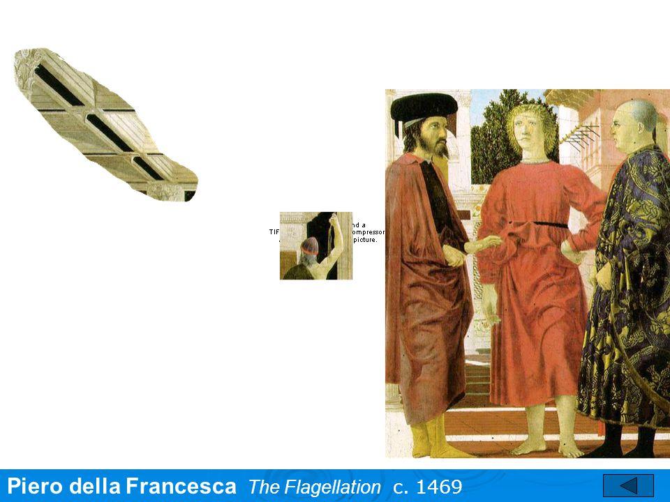 Piero della Francesca The Flagellation c. 1469