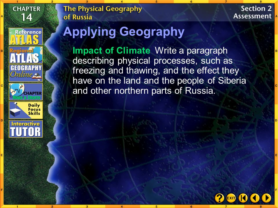 Applying Geography