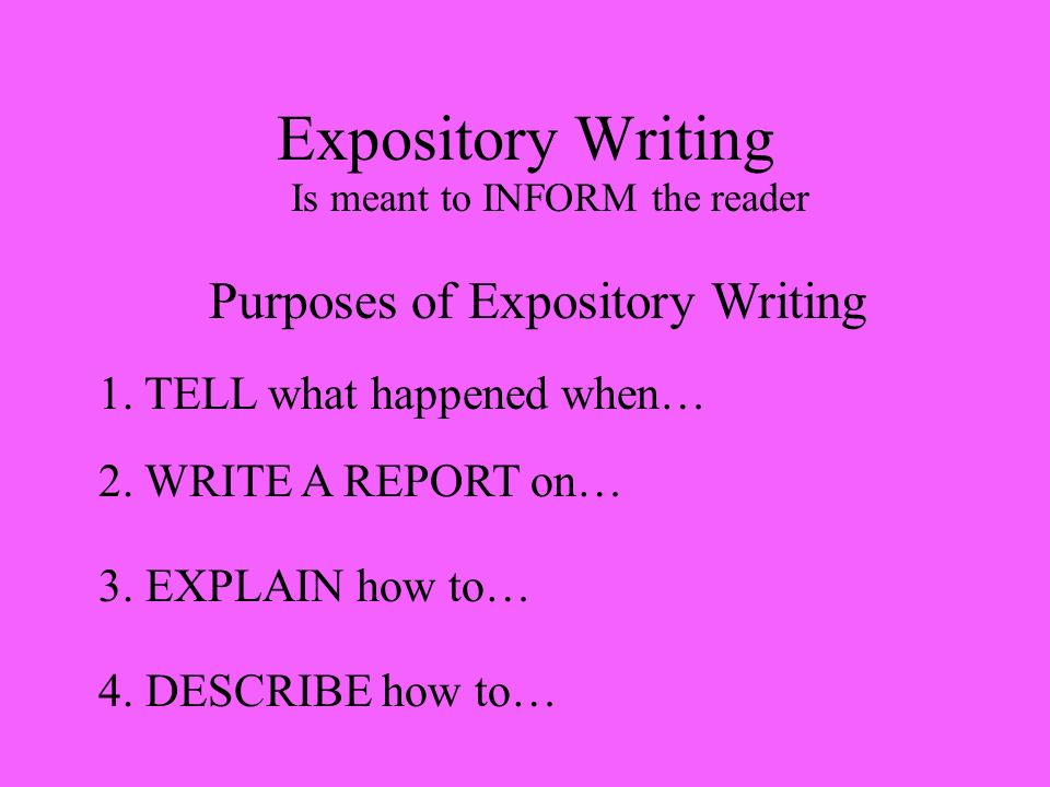expository essays on survival