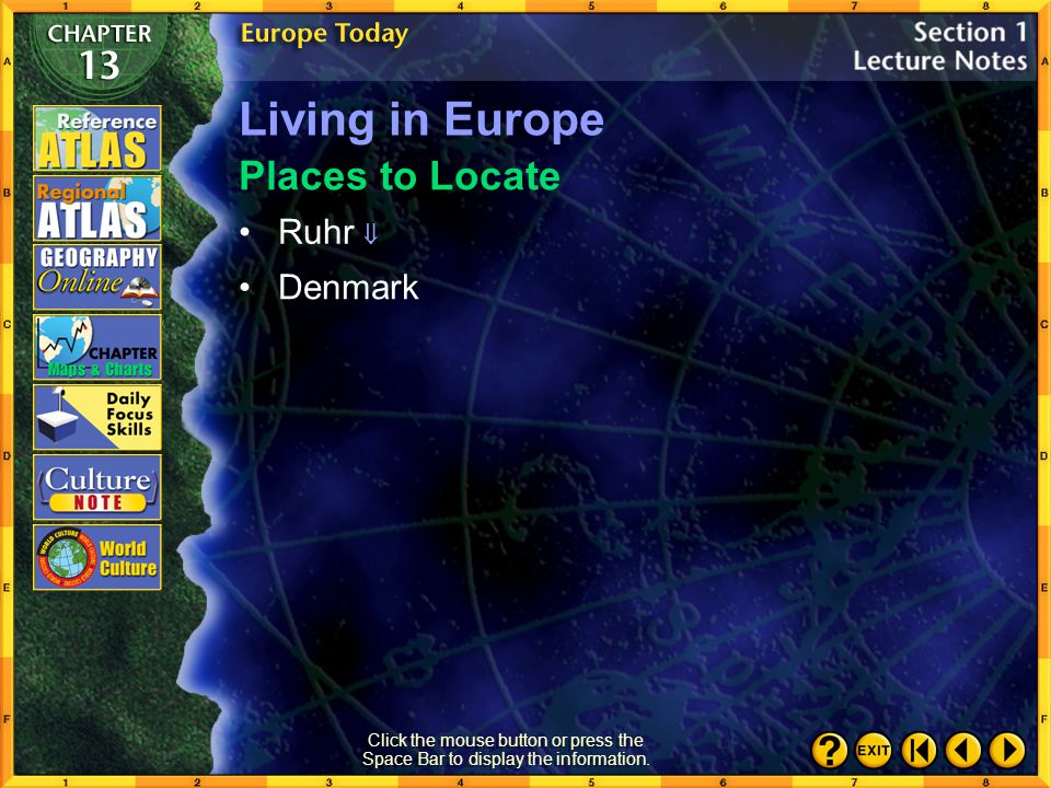 Living in Europe Places to Locate Ruhr  Denmark