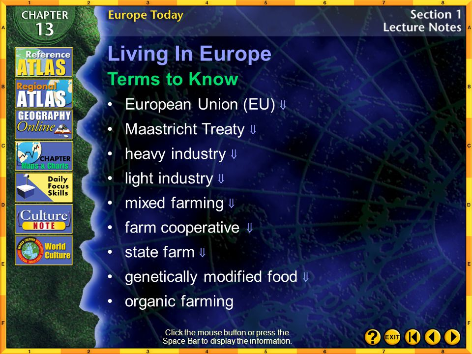 Living In Europe Terms to Know European Union (EU) 