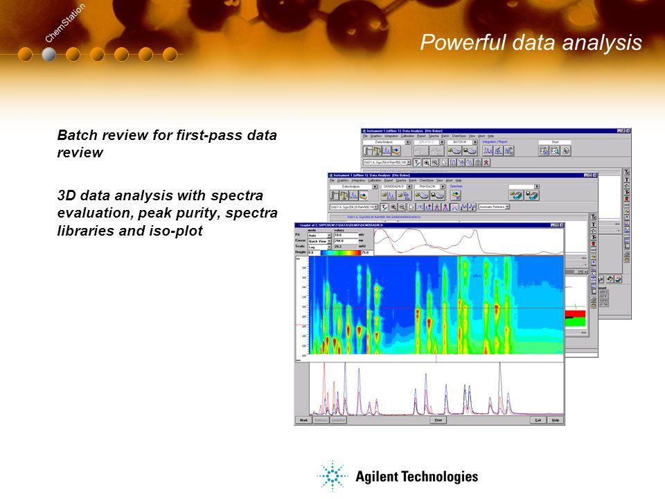 Powerful data analysis