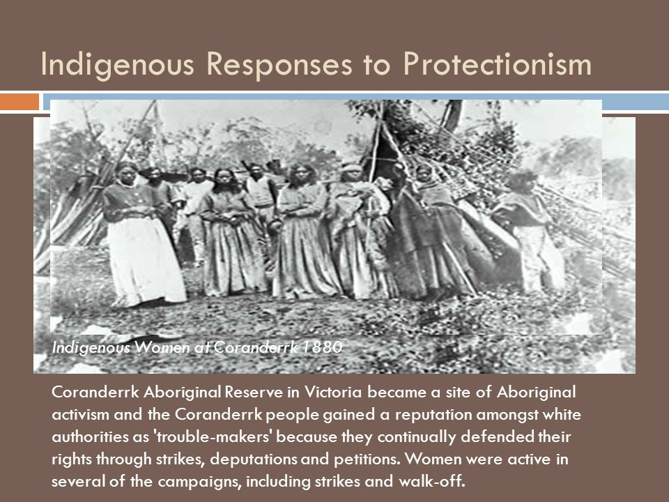 Indigenous Responses to Protectionism