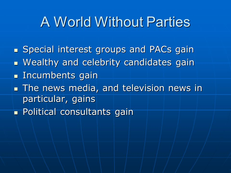 A World Without Parties
