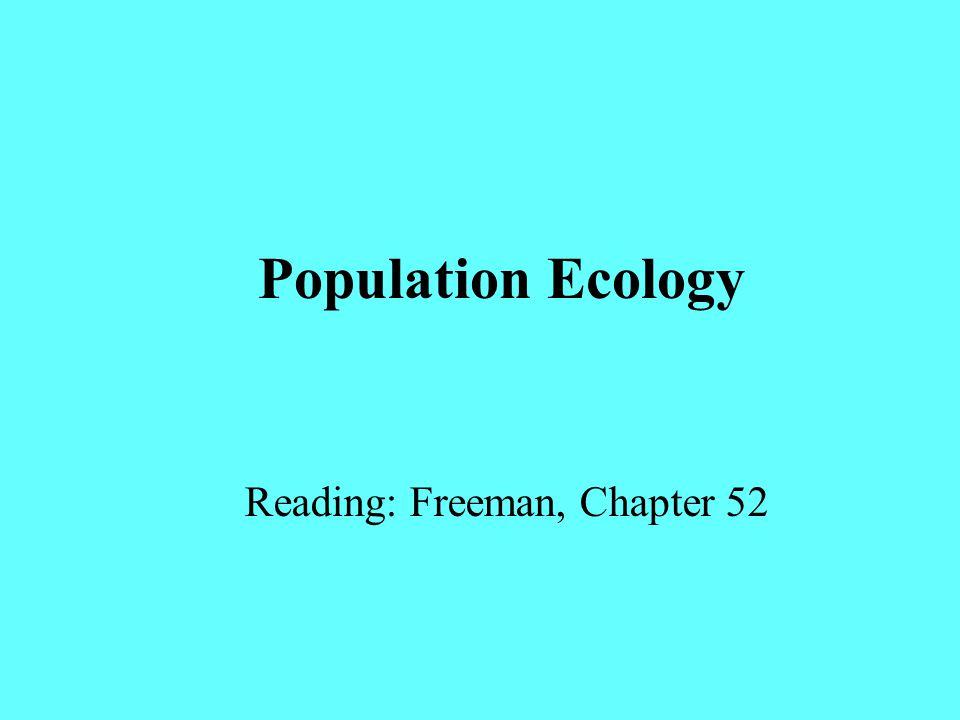 Reading: Freeman, Chapter 52